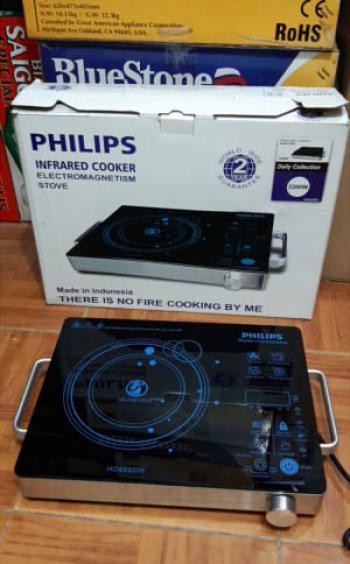 Bếp hồng ngoại Philips HD493200 - 2.200W