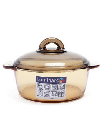 Nồi thủy tinh cao cấp Luminarc Vitro Amberline 1L C6317 (Hổ phách)