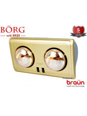 Đèn sưởi nhà tắm Braun BU02G