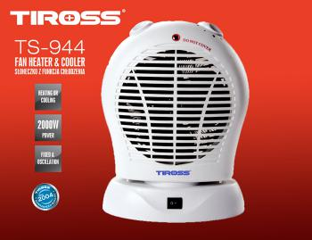 Quạt sưởi Tiross TS944 (TS-944) - Quạt sưởi 2 chiều