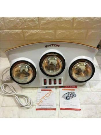 Đèn sưởi nhà tắm Hitop - 3 bóng hồng ngoại HT92