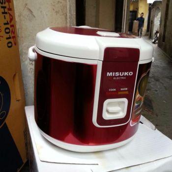 Nồi cơm điện Misuko VS500(VS-500) 1.8L (Đỏ)