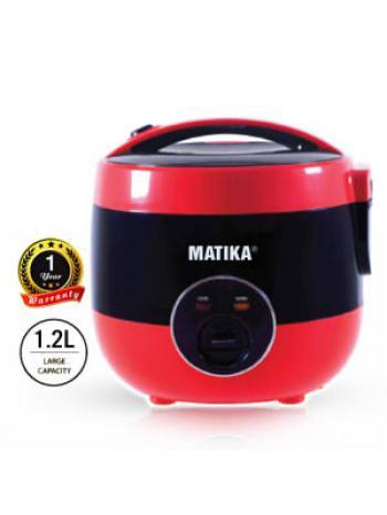 Nồi cơm điện nắp gài Matika MTK-RC12 - 1.2L