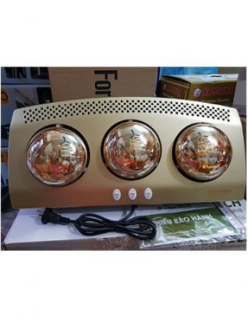 Đèn sưởi nhà tắm 3 bóng Thaitech THA-03