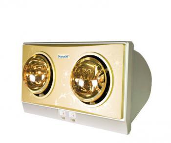 Đèn sưởi nhà tắm 2 bóng NAVADO NAV 8002 ( NAV 6002 )