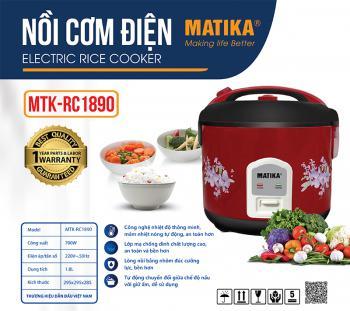 Nồi cơm điện Matika MTK-RC1890