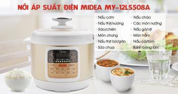 Nồi áp suất điện Midea MY-12LS508A 5L