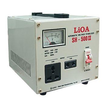 Ổn áp LiOA 0.5KVA SH-500 II dải 150V-250V