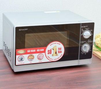Lò vi sóng Sharp R205VNS (R-205VN-S) - 20 lít, 800W