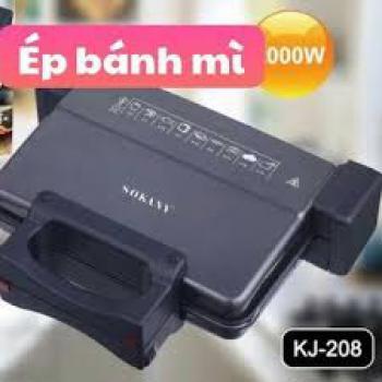 Máy kẹp bánh mỳ Sokany KJ-208 (Nướng các loại bánh)
