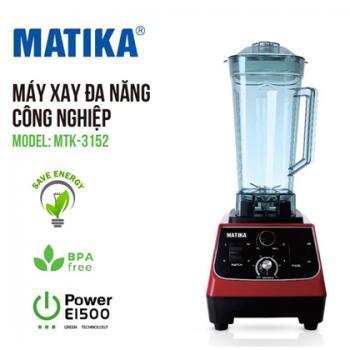 Máy xay sinh tố công nghiệp Matika MTK-3152