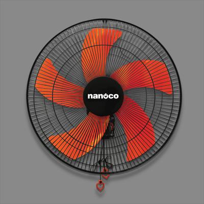 Quạt Treo Tường Nanoco NWF1606 - Màu Đen Cam