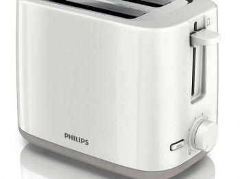 Máy nướng bánh sandwich Philips HD2582 White