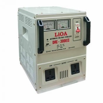 Ổn áp LiOA 3.0KVA DRI - 3000 II dải 90V-250V