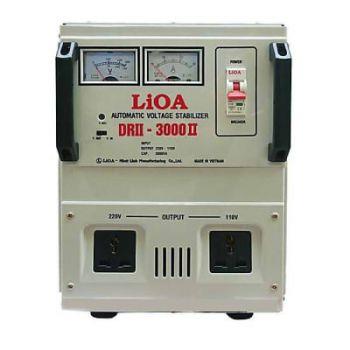 Ổn áp LiOA 3.0KVA DRII - 3000 II dải 50V-250V