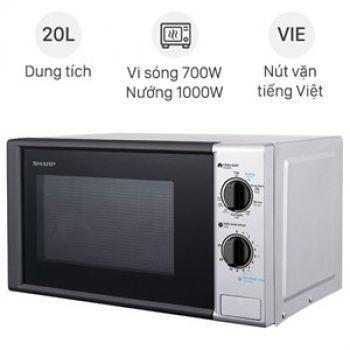 Lò vi sóng Sharp R-G225VN-BK 20 lít - có nướng