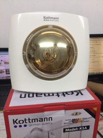 Đèn sưởi 1 bóng âm trần Kottman – K1A