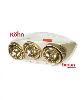 Đèn sưởi nhà tắm 3 bóng Kohn KU03G