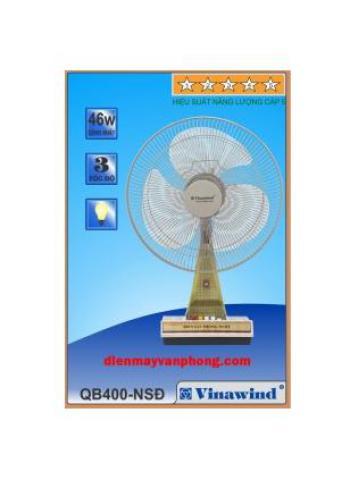 Quạt bàn Vinawind QB400-NSĐ