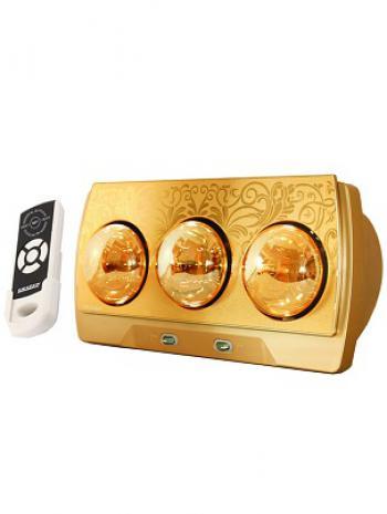 Đèn sưởi nhà tắm cao cấp Heizen HE3BR (có điều khiển)